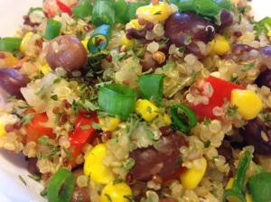 Chipotle-Corn with Quinoa & Pinto Beans