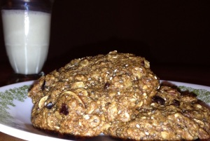 Irresistible Chewy Trail Mix Cookies4