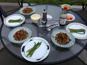 John-s B-day dinner