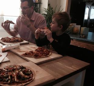 boys & pizza