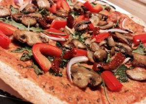 tahini sauce pizza