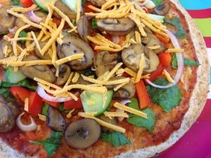 Tortilla Pizza2
