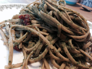 Linguine with Cannellini Pesto2