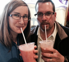 Smoothie Couple