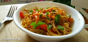 curried chickpea pasta salad