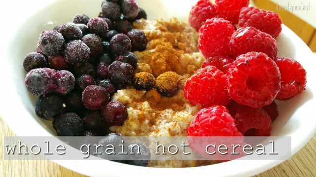 whole grain hot cereal mix